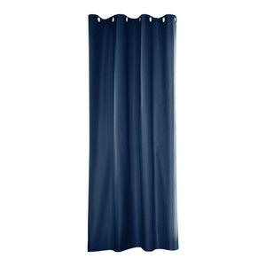 UV Sichtschutz Vorhänge Cabana Pergola Vorhang Drapieren Tülle Top 1 Panel Blue_54x84inch Grau Modern Einfarbig Vorhang im Freien