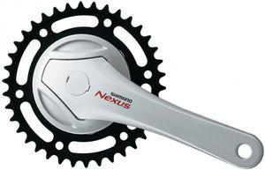 Shimano Kurbelgarnitur Nexus FC-NX75 170mm - 38 Zähne