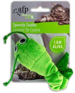 Modern Cat - Speedy Snake - Katzenspielzeug - grün