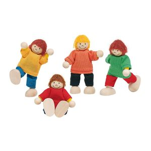 Goki 51897 - Biegepuppen Kinder 4013594518970