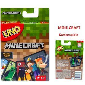 Für Kinder und Familie geeignete Kartenspiele UNO-MINE CRAFT(bunte Karte)