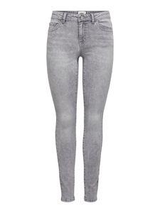 Only Jeans Damen ONLWAUW LIFE MID SK BB BJ Größe M/32, Farbe: 179698 Medium Grey Denim