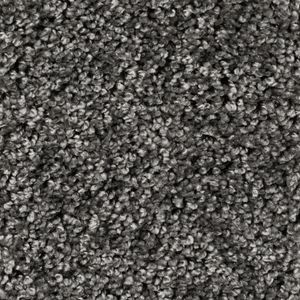 Teppichboden, Auslegware, Meterware, 400 cm x 550 cm, dunkelgrau, Frise
