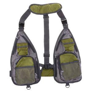 Unisex Angler Outdoorweste mit vielen Taschen Atmungaktiv Mesh Weste Anglerweste Einstellbare Größe