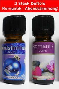 ✅GKA 2 Stück ätherisches Duftöl Romantik Abendstimmung für Verliebte Aromaöl Raumduft Duftöle GP10ml=0,99€✅