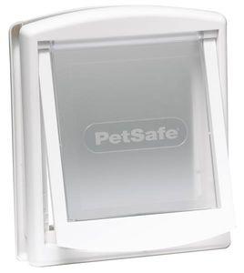 PetSafe 2-Wege-Haustierklappe 715 Klein 17,8x15,2 cm Weiß 5017