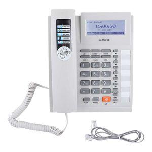 Mllaid Schnurgebundenes Telefon Festnetztelefone Große Tasten Erweiterungsset Schnurgebundenes Telefon mit Freisprecheinrichtung mit LCD-Display