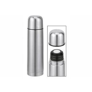 HI 26025 Isolierflasche 1,0L Edelstahl, silber