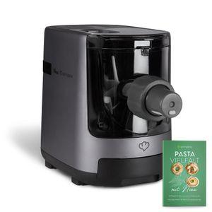 Springlane Elektrische Nudelmaschine Nina, vollautomatisch, Pastamaker mit Wiegefunktion inkl. 7 Nudeleinsätzen und Rezeptheft