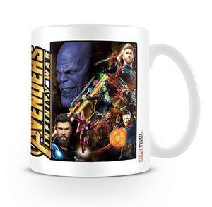 Marvel Avengers Infinity War Tasse Space Montage