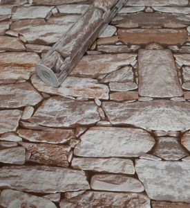 Folie selbstklebend 10m x 45cm 5 Motive Steinoptik Steine Dekorfolie Möbelfolie (3008) Dekorationsfolie