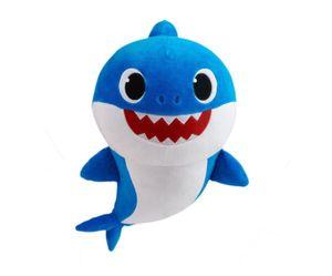 Baby Shark Plüsch Handpuppen - Daddy Shark