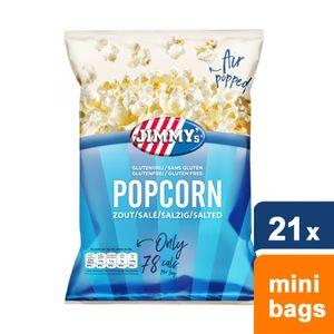 Jimmy's - Popcorn Salz - 21 mini beutel