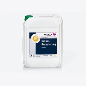 MEGA 206 Silikat-Grundierung 10 Liter farblos
