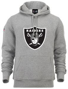 New Era -  NFL Oakland Raiders Team Logo Hoodie - Grau Größe: L
