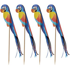600 Deko-Picker 18 cm  Papagei