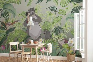 "Komar Vlies Fototapete ""Welcome To the Jungle"" - Größe: 400 x 280 cm (Breite x Höhe), 8 Bahnen"
