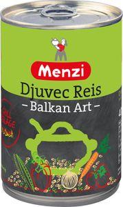 Menzi Djuvec Reis nach Balkan Art würzig leckeres Reisgericht 400g