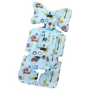 Universal Sitzauflage für Kinderwagen, Buggy Kindersitz und Babyschale, Atmungsaktive Sitzeinlage, Cover Kinderwagen Kissen für kinderwagen,Kinderwagen Sitzauflage Sitzpolster (C)