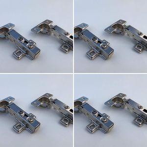 8er-Set Scharniere (neu) passend für Besta, Fritids, Stuva (Ikea) mit 8 Scharniere und 32 Schrauben