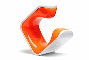 Clug MTB Fahrradclip Für die Wand - Weiß/Orange