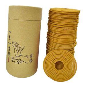 120 Teile / Schachtel 68mm Räucherspirale Erfrischende Kräuterspiralen (6 7 Std.) Raumduft Handgemachte Aromaspiralen Farbe fragrans