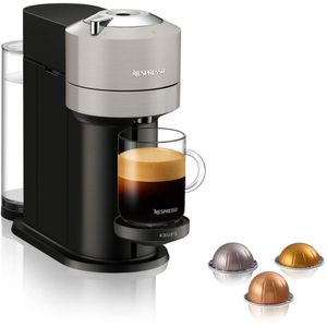 Krups XN 910B Nespresso Vertuo Next Kapselmaschine, Farbe:Grau