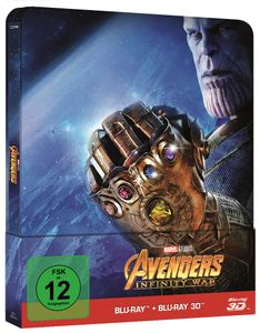Avengers: Infinity War [Blu-ray 3D + 2D Steelbook]