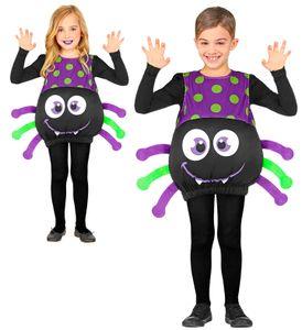 Kinder Kostüm Spinne Gr. 110