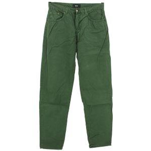 #5495 Hugo Boss, Arkansas ,  Herren Jeans Hose, Denim ohne  Stretch, moosgrün, W 33 L 34