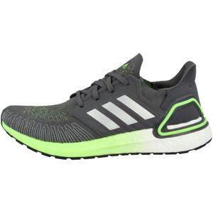Adidas Ultraboost 20 Grey Five / Silver Metalic / Signal Green EU 44