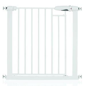 Türschutzgitter Treppengitter Kindersicherung Baby Gitter Auto Close ohne Bohren, Breite 76-83 cm