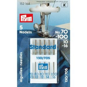 Prym Nähm.nadel, 130/705H, Stärke 70-100, 5 Stk.