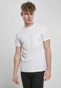 Urban Classics T-Shirt Basic Pocket Tee White-L