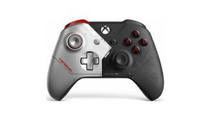 Microsoft Official Xbox One S Wireless Controller - Cyberpunk 2077  (Xbox One) - Microsoft  - (XBox One Zubehör / Controller)