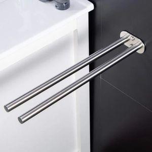 Handtuchhalter Badetuchhalter aus Edelstahl Ohne Bohren Handtuchstange Selbstklebend Badetuchhalter