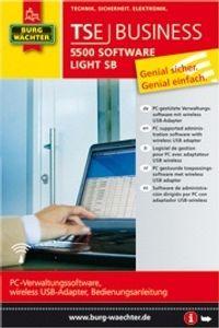 Software TSE 5500 Software Light SB bis zu 15 Benutzer und 8 Türschlösser