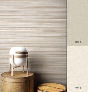 Streifentapete  Metallic Vinyl Floral Natur Modern Landhaus Landhaus Streifen Linien  Prent Muster