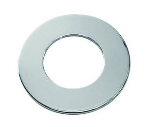 PROKIRA Rosette Unterlegscheibe Grundplatte für Armaturen Innen-Außendurchmesser 35 zu 65 mm / Chrom