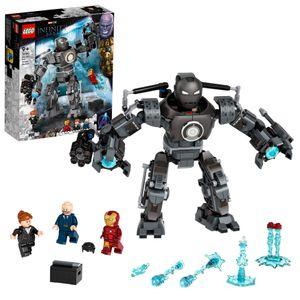 LEGO 76190 Marvel Super Heroes Iron Man und das Chaos durch Iron Monger, Spielzeug mit Superhelden Figuren, Fanartikel