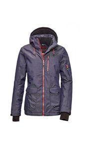 Killtec - Damen Funktionsjacke mit abzippbarer Kapuze und Schneefang, Combloux WMN Ski JCKT A (36176), Größe:40, Farbe:Midnight (00853)