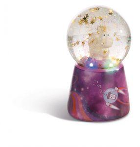 Nici 43737 Schüttelkugel Traumkugel mit LED goldenes Einhorn Shooting Star