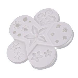 3d Misch Silikon Blume Silikonform Backform Pralinenform Schokoladenform Backen Werkzeug