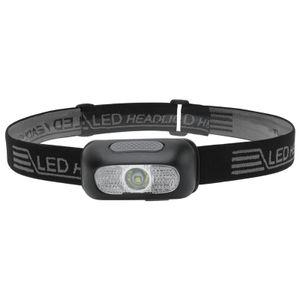 Stirnlampe mit 5 Dimmstufen, Ultrahelle Wiederaufladbare LED Kopflampe, Wasserdichtes IPX5, Gestensensor, Einstellbarer Stirnlampe USB fürs Laufen, Joggen, Angeln, Camping, Jagd