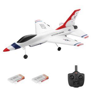 Wltoys XK A200 F-16B RC Flugzeug 2,4 GHz 2CH RC Flugzeug Flugspielzeug fš¹r Kinder Jungen mit 2 Batterien