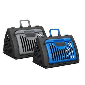 Tier-Transportbox, faltbar, Kunststoff, für Hunde und Katzen