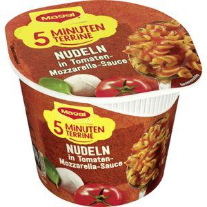 Maggi 5 Minuten Terrine Nudeln in Tomate Mozzarella Sauce 55g