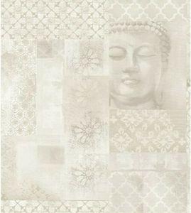 Glitzertapete Beige Buddha Arthouse Enlighten Glitzer Effekt Tapete