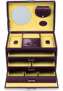 WINDROSE Merino Moda Jewelry Box S Aubergine