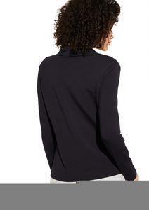 Comma identity Jersey-Blazer in Blau, Größe 42,